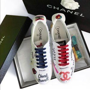 CHANELxPHARREL Williams Graffiti Sneakers